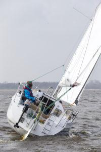 WK Vaarimpressie Mariner 24 op het Zuidlaardermeer